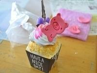 カップケーキのメモスタンド