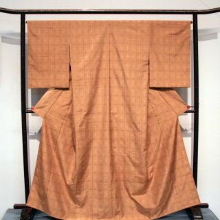 工芸 「 紬織着物『秋日和』 」 東海信子 作